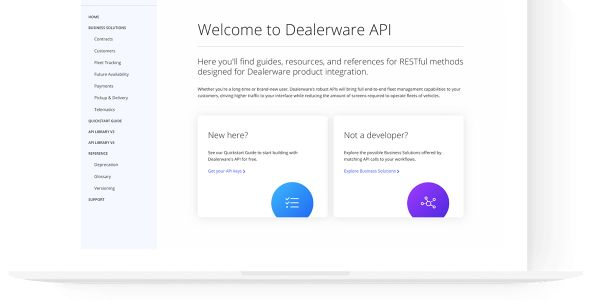New Dealerware developer platform launches to enable powerful, integrated, single-screen...