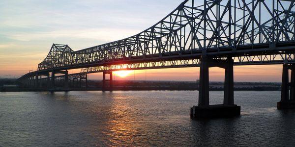 The infrastructure bill earmarks $110 billion for roads and bridges.