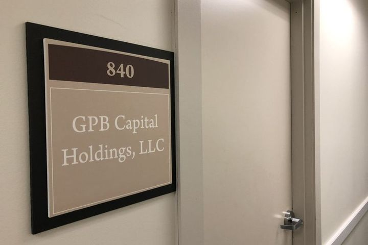 GPB Capital Holdings offices in Clearwater, Florida. - Tampa Bay Times/Zuma Press