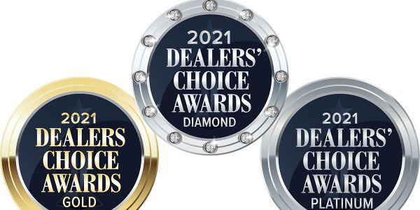 Leading F&I provider earns diamond, platinum and gold.