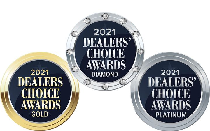 Leading F&I provider earns diamond, platinum and gold. -