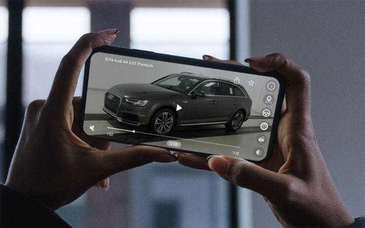 Consumers spend 44% more time on a dealer website where vehicle videos were available. - IMAGE: LESA