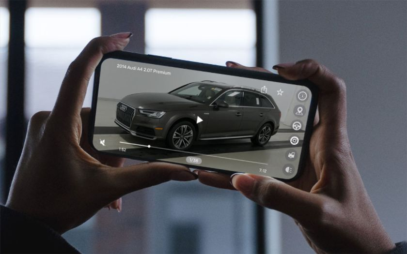 Consumers spend 44% more time on a dealer website where vehicle videos were available.