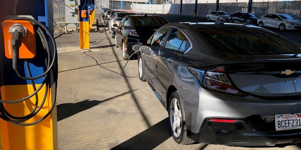 """Infrastructure created to """"electrify Manheim"""" locations to service and support EV for clients."""