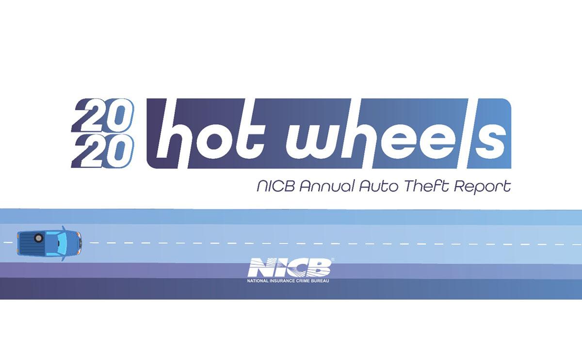 Annual 'Hot Wheels' Report: America's Top Ten Most Stolen Vehicles