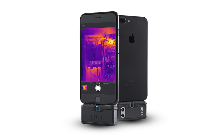 The FLIR ONE Pro LT was designed to offer mobile advanced thermal imaging at a lower price point. 