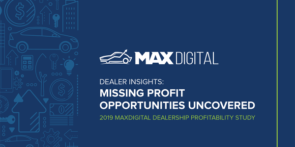 MAXDigital's third annual dealer survey finds multiple gaps in profit opportunities relating to...