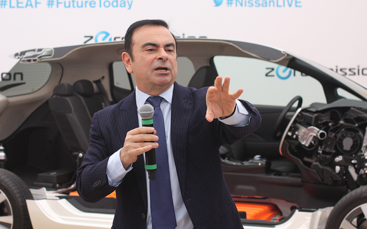 In his first interview since his Nov. 19 arrest, former global factory alliance chief Carlos Ghosn told Japan's Nikkei news organization the charges of financial crimes leveled against him are the product of a conspiracy among Nissan executives. 