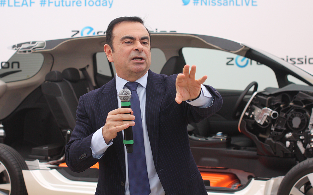 Ghosn Claims 'Plot and Treason' Led to Charges