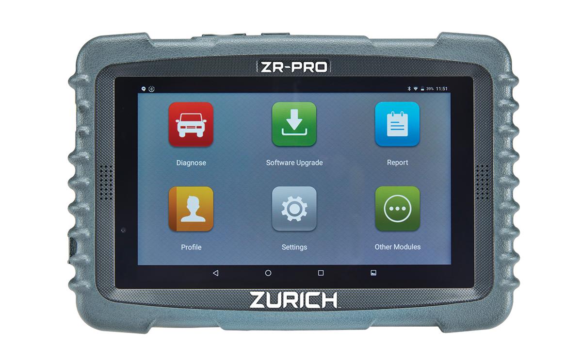 Zurich Debuts Tablet-Based Scanner