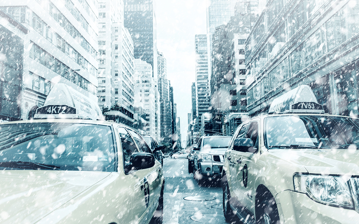 New research from AAA finds electric vehicles lose an average of 41% of range in 20-degree temperatures with the heater on.   - Photo by Nick_H via Pixabay