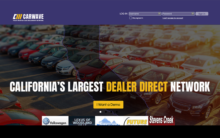 The Dealers' Forum is now CarWave, a rebrand that coincides with the California-based online auto auction platform's expansion into Arizona and Nevada. 