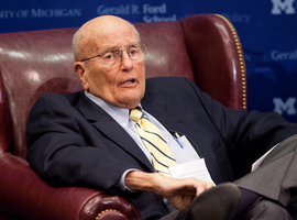 "Known as ""The Dean"" of the U.S. Congress, John David Dingell Jr. was its longest-serving member, winning his late father's House seat in 1955 and stepping down in 2015."