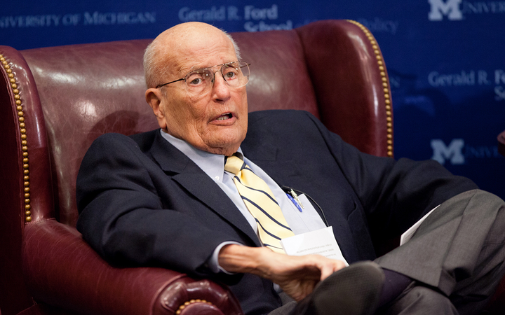 "Known as ""The Dean"" of the U.S. Congress, John David Dingell Jr. was its longest-serving member, winning his late father's House seat in 1955 and stepping down in 2015. 