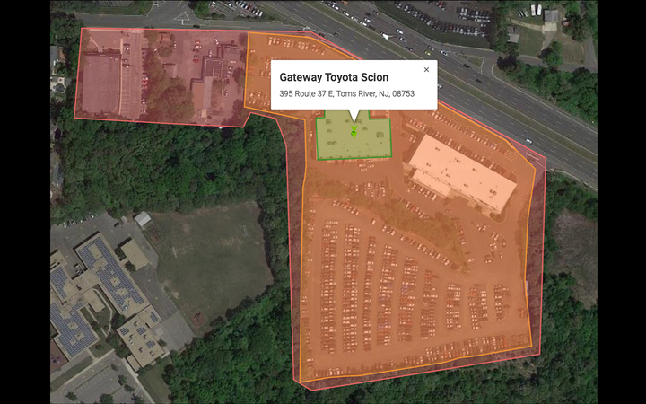 Toyota dealers in Delaware, Pennsylvania, and New Jersey participated in a monthlong test of GroundTruth's proprietary location-based audience targeting. 