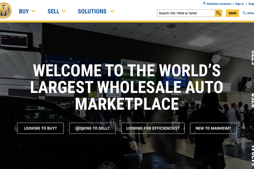 Planned enhancements to Manheim's dealer-facing solutions include a redesigned website.