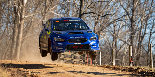 Last week's Rally in the 100 Acre Wood featured a Subaru WRX STI driven by David Higgins and...