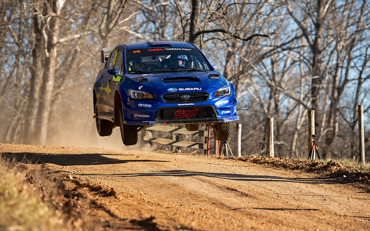 Last week's Rally in the 100 Acre Wood featured a Subaru WRX STI driven by David Higgins and Craig Drew. Subaru's U.S. sales are up 2.3% in Cox Automotive's March forecast, which predicts a 7% decline industrywide. 
