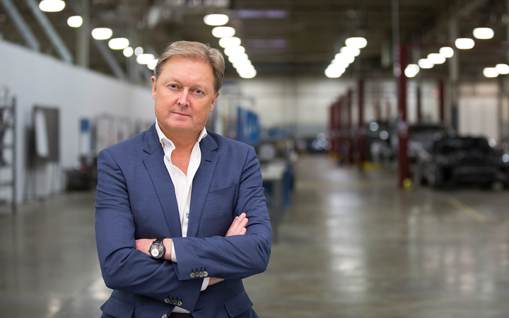 """Henrik Fisker met with Bloomberg to elaborate on plans to build an all-electric SUV by 2021. The story's headline refers to the concept as Fisker's """"latest Hail Mary for relevancy.""""  - Photo courtesy Fisker Inc."""