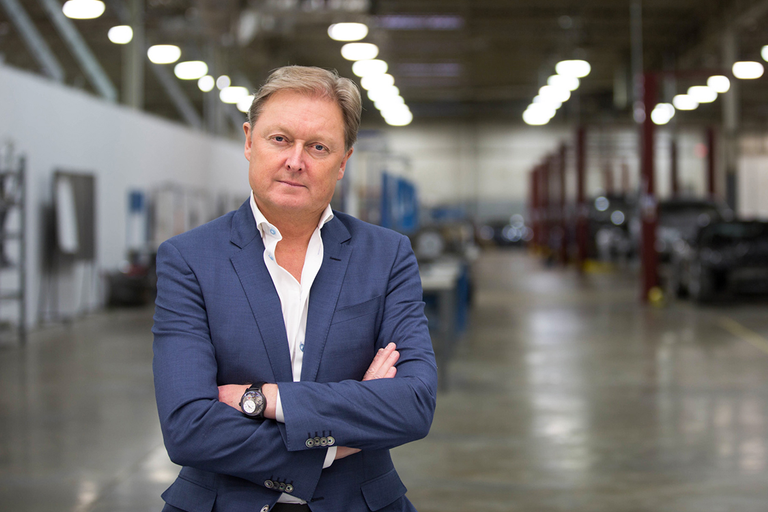 Henrik Fisker met with Bloomberg to elaborate on plans to build an all-electric SUV by 2021. The...