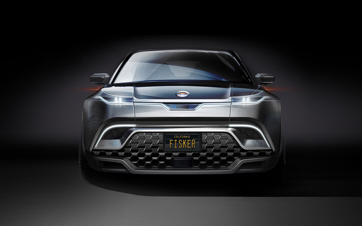 The Fisker SUV will be powered by twin electric motors running off an 80-kilowatt-hour lithium-ion battery pack and delivering 300 miles per charge. 