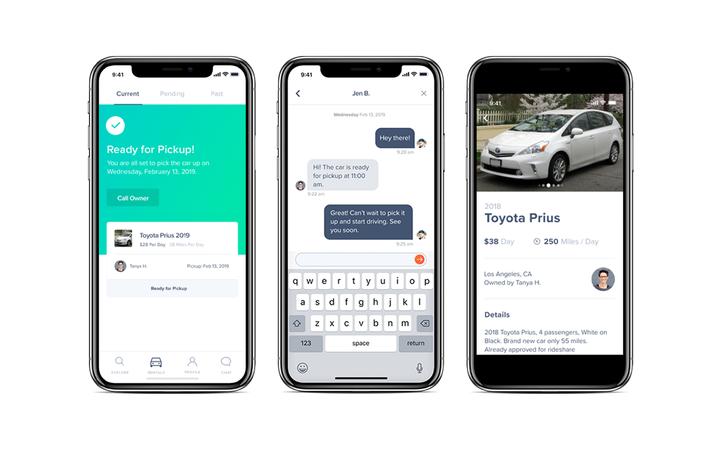 HyreCar's new mobile app features Mitek identity verification technology.   - Photo courtesy HyreCar