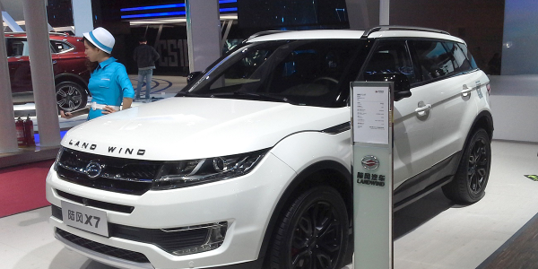 Production of Jiangling Motors' Landwind X7 SUV has been halted by a Chinese court.