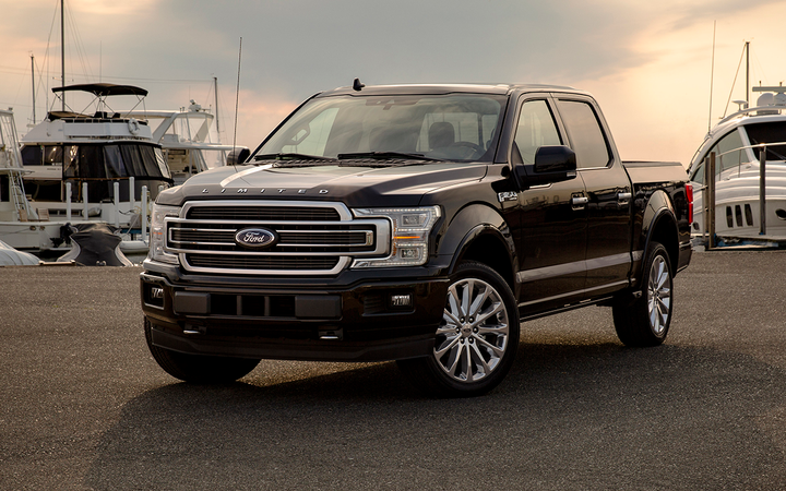 The nation's bestselling new vehicle, the Ford F-150, was also the most floorplanned vehicle of 2018, according to NextGear Capital.