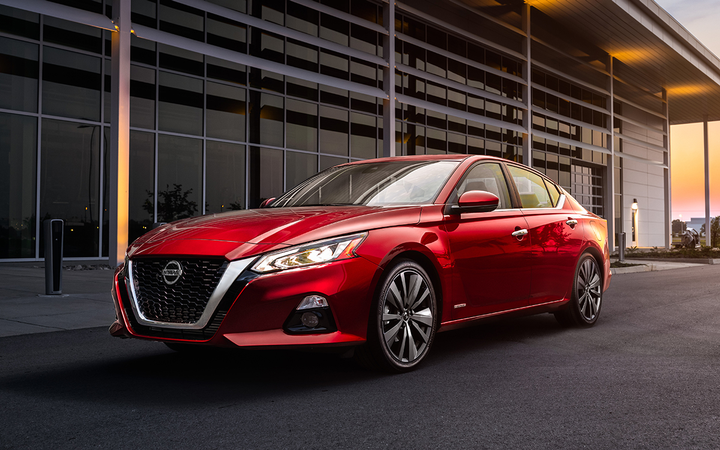 The Nissan Altima was the most floorplanned sedan in NextGear Capital's 2018 rankings. The list has yet to include a single SUV or CUV, but analysts said that could soon change. 