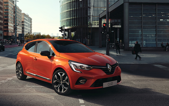 The fifth-generation Renault Clio will be among the first models to be sold with Renault-Nissan-Mitsubishi's new, Microsoft Azure-backed Alliance Intelligent Cloud connected-vehicle platform. 