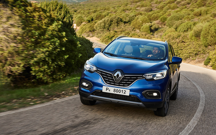 Renault's product line includes the 2020 Kadjar CUV. A merger among Renault, Nissan, and Fiat Chrysler would create a new global auto manufacturing leader. 