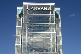 Carvana Crashes Used-Vehicle Dealer Rankings