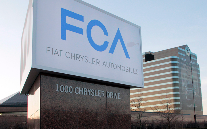 Fiat Chrysler Automobiles and its U.S. division will pay a $40 million fine to settle charges stemming from allegedly falsified monthly sales reports. 