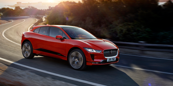 The Jaguar I-Pace CUV is one of several new all-electric models to reach the North American...