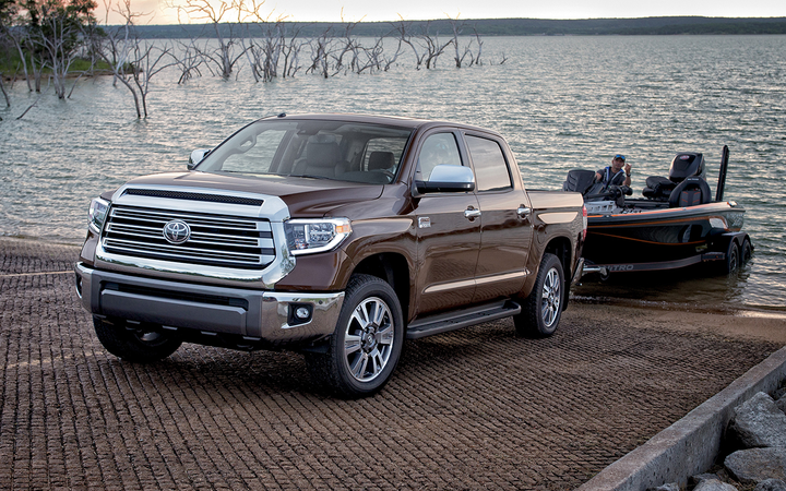The Tundra was the No. 2 overall-rated vehicle in KBB.com's latest brand perception rankings, helping Toyota earn Best Overall Truck Brand. 