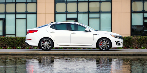 The 2014 Kia Optima is one of five Kia and Hyundai models involved in new investigations...