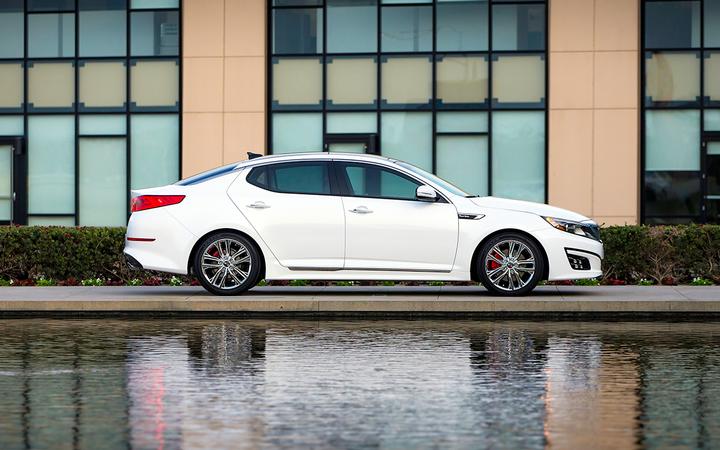 The 2014 Kia Optima is one of five Kia and Hyundai models involved in new investigations launched by NHTSA in response to a Center for Auto Safety petition. 