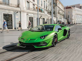 The Aventador SVJ is one of three models offered to U.S. used-car buyers as part of Lamborghini's new Selezione CPO program.