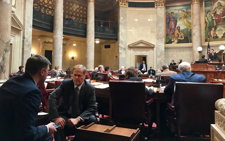State Sen. Robert Cowles (R-Green Bay) said delays suffered by complainants regarding Standard Pre-Owned consignment stores in two Wisconsin towns helped inspire a new bill designed to fast-track dealer fraud investigations.   - Photo courtesy Wisconsin State Legislature