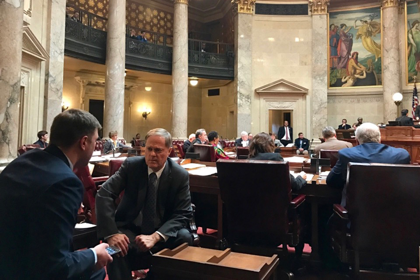 State Sen. Robert Cowles (R-Green Bay) said delays suffered by complainants regarding Standard...