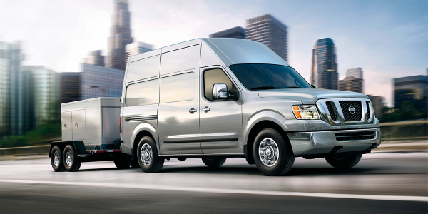 Vans such as the 2019 Nissan NV Cargo accounted for more than one-third of all...