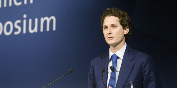 John Elkann, chairman of Fiat Chrysler Automobiles, is pushing a proposal to merge the...