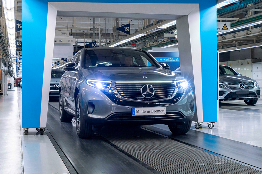 The upcoming 2020 Mercedes-Benz EQC is among the parade of new all-electric models set to enter...