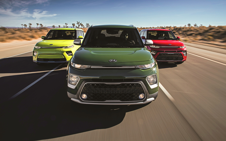 The Kia Soul tops Kelley Blue Book's list of the 10 Coolest Cars available for less than $20,000. 