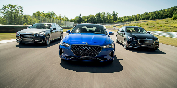 Sales of the Genesis brand improved by an industry-best 56% in April, helping to offset a weak...