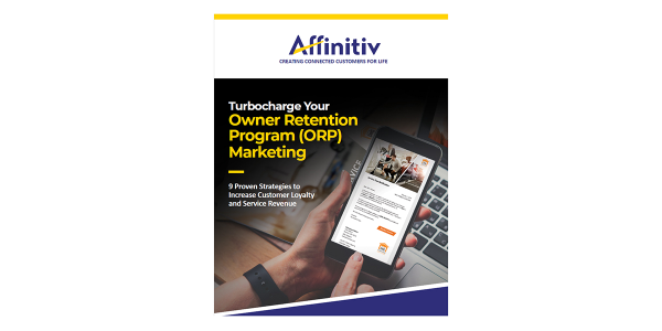 Affinitiv Releases Ebook on ORP Marketing