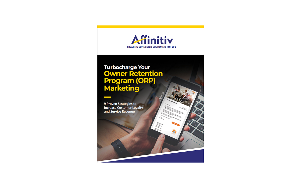 Affinitiv Releases Ebook on ORP Marketing