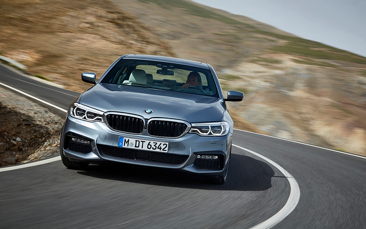 Retained values for luxury cars such as the 2017 BMW 5 Series fell by nearly a full percentage point in Black Book's May report, but retention in all categories improved by 0.7%. 
