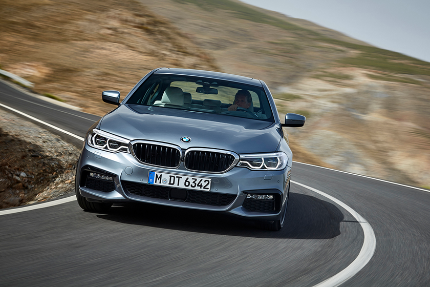 Retained values for luxury cars such as the 2017 BMW 5 Series fell by nearly a full percentage...