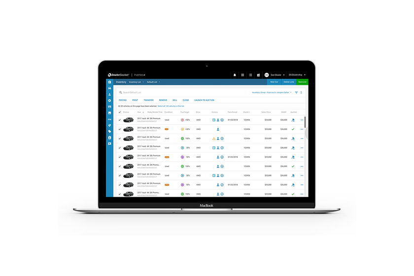 DealerSocket executives said the company's Inventory+ inventory-management tool has been...